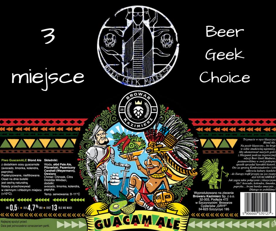 3 miejsce beer geek